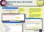 remote file transfer rft1