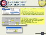 vault to vault v2v transfer