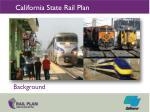 california state rail plan