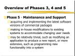 overview of phases 3 4 and 52