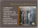 realities of settlement1