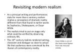 revisiting modern realism