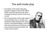 the well made play