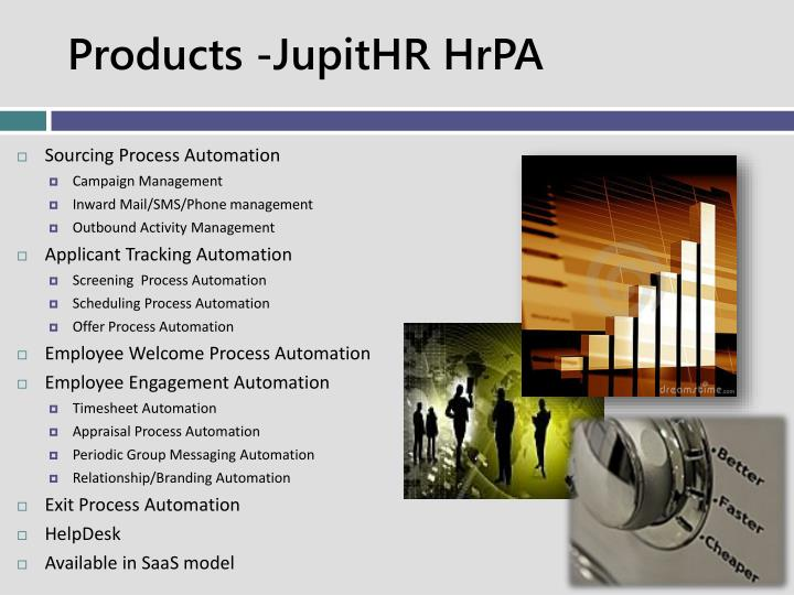 Products -JupitHR