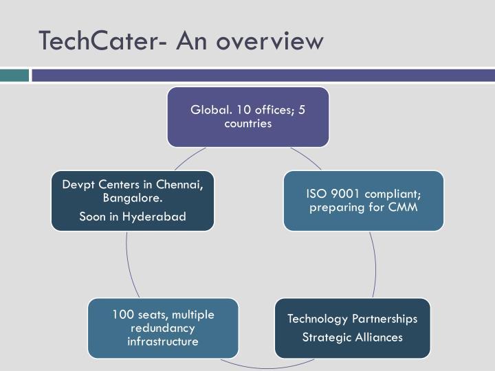 TechCater- An overview