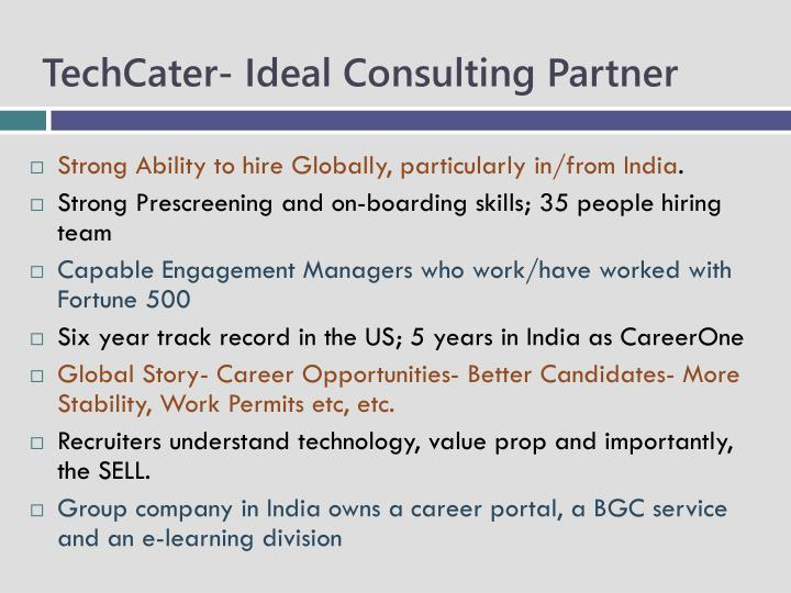 TechCater- Ideal Consulting Partner