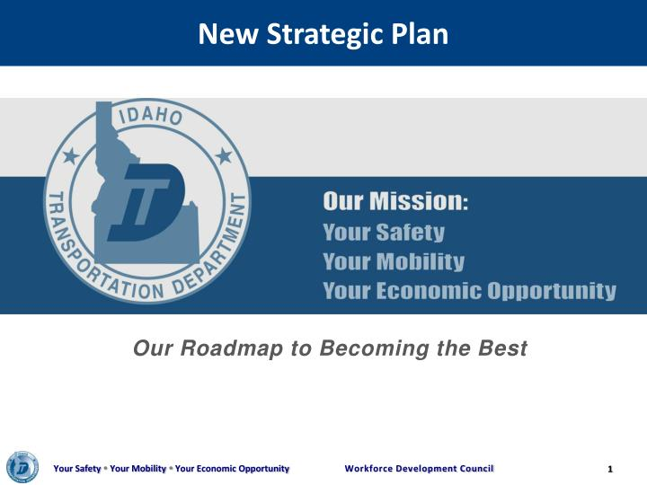 new strategic plan n.