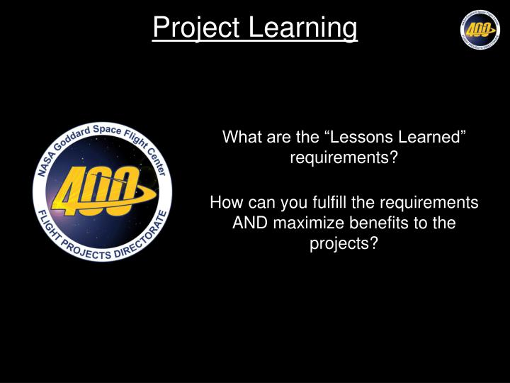 project learning n.