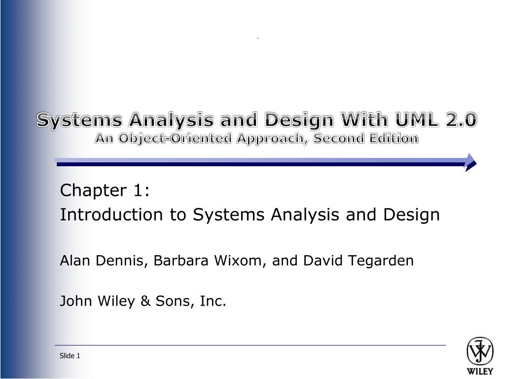 Ppt Systems Analysis And Design With Uml 2 0 An Object Oriented Approach Second Edition Powerpoint Presentation Id 1659169