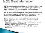 excel grant information1