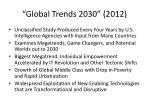 global trends 2030 2012