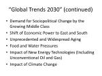 global trends 2030 continued