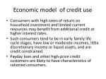 economic model of credit use1