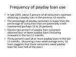 frequency of payday loan use
