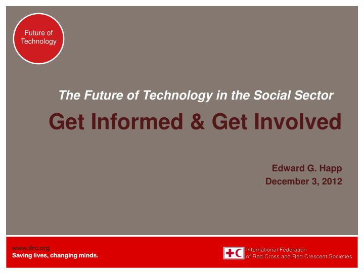 the future of technology in the social sector n.