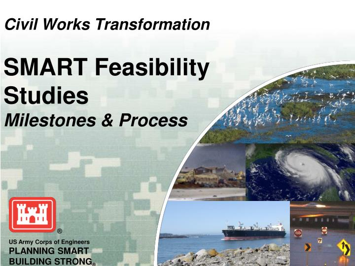 civil works transformation smart feasibility studies milestones process n.