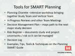 tools for smart planning