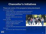 chancellor s initiatives1