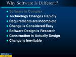 why software is different1