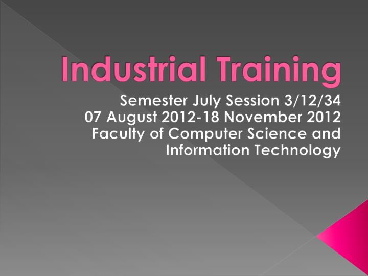 ppt industrial training powerpoint presentation id 1659282