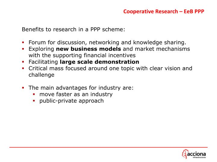 Cooperative Research –