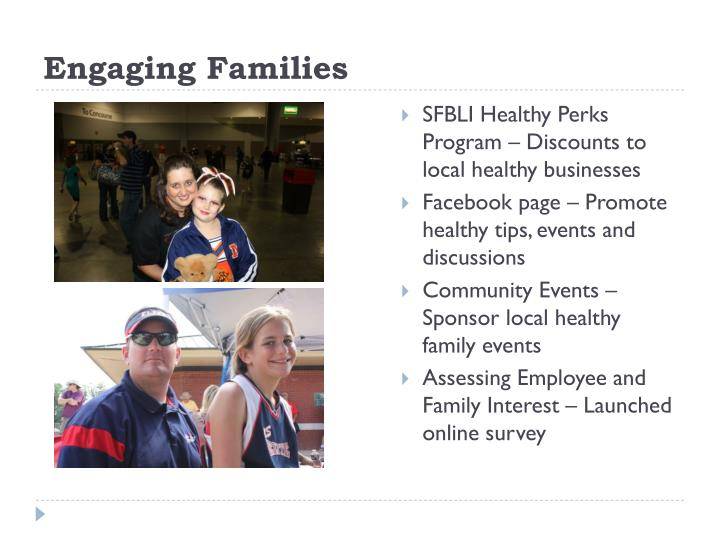 Engaging Families