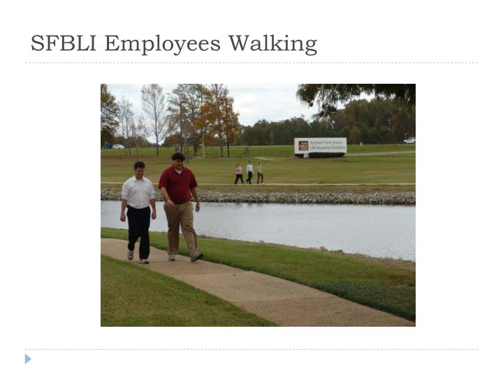 SFBLI Employees Walking