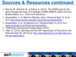 sources resources continued