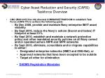 cyber asset reduction and security cars taskforce overview