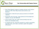 our partnership with clayton homes