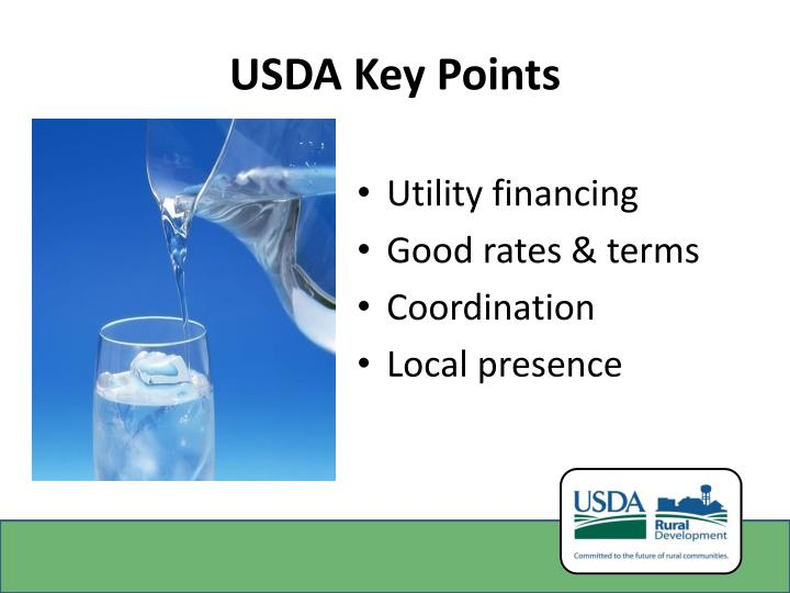 USDA Key Points