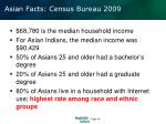 asian facts census bureau 20091