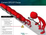 current ofccp focus