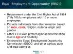 equal employment opportunity eeo