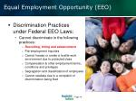 equal employment opportunity eeo1