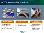 ofccp accessibility watch list