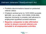vietnam veterans readjustment act