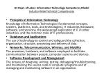 us dept of labor information technology competency model industry wide technical competencies