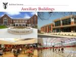 auxiliary buildings