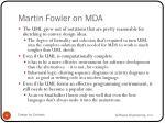 martin fowler on mda1