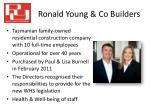 ronald young co builders