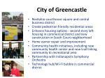 city of greencastle