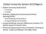 global university system gus nigeria