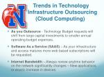 trends in technology infrastructure outsourcing cloud computing1