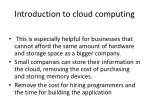 introduction to cloud computing2