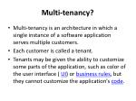 multi tenancy1