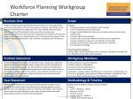 workforce planning workgroup charter