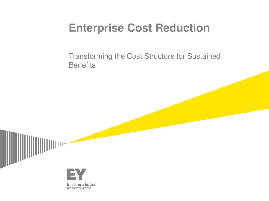 benefits of cost reduction
