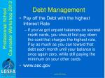 debt management1