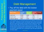 debt management2